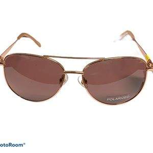 NEW Foster Grant polarized aviator sunglasses